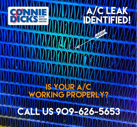 Condensor A/C Leak